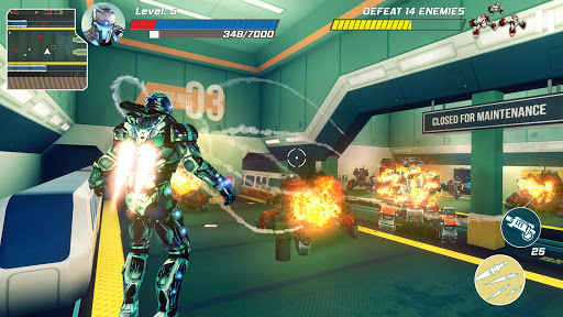 Iron Avenger - Infinite Warfare RPG  screenshots 4