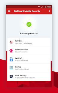 Mobile Security and Antivirus Screenshot