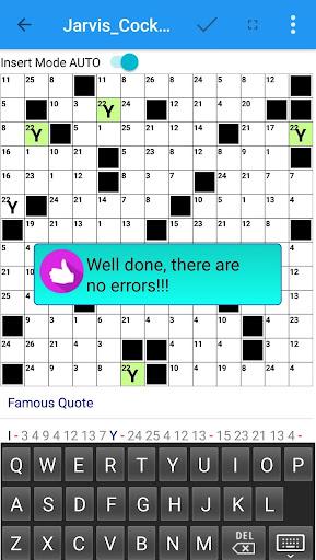 Codeword Puzzles Word games, fun Cipher crosswords 7.5 screenshots 7