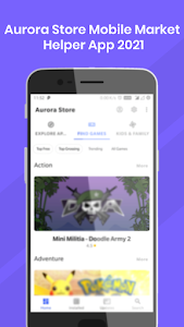 Aurora Store Mobile Market Helper App 2021 1.01408.B21