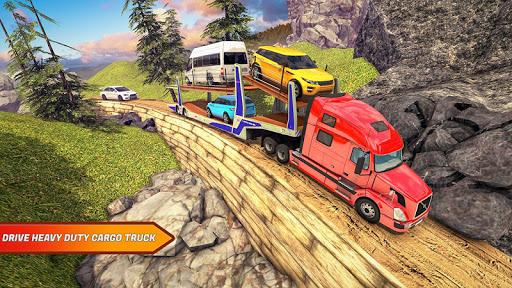 Offroad Transporter Car park  screenshots 1
