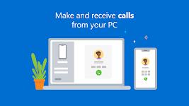 screenshot of Your Phone Companion - Link to Windows