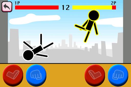 Fighting games Mokken: stick man battle modavailable screenshots 5