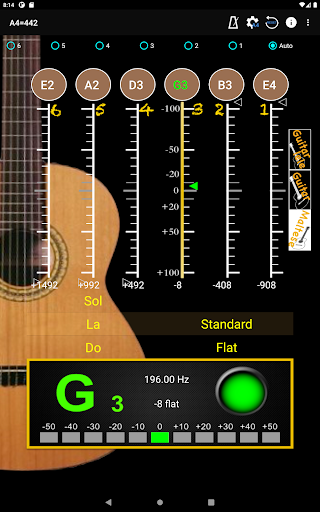 GuitarTuner - Tuner for Guitar apktram screenshots 15