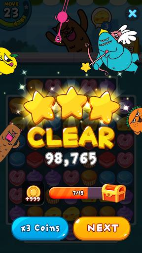 Sweet Monsteru2122 Friends Match 3 Puzzle | Swap Candy 1.3.2 screenshots 4