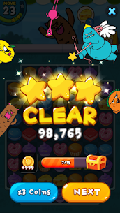 Sweet Monster™ Friends Match 3 Puzzle | Swap Candy 4