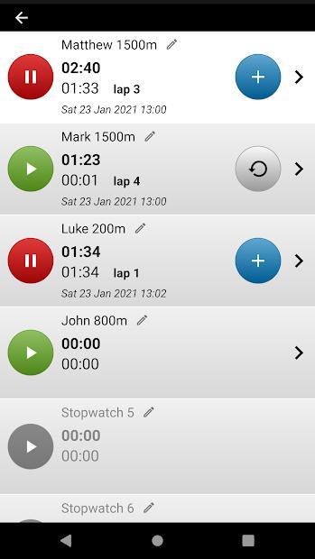 Captura 3 de Cronómetro con voz. para android