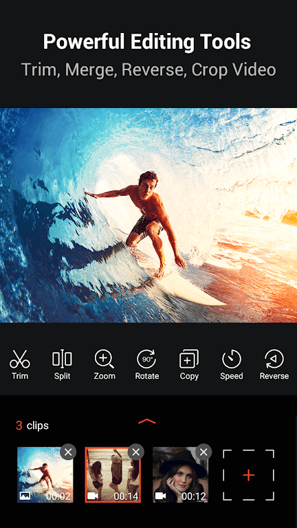 Video Editor & Free Video Maker Filmix with Music  poster 0
