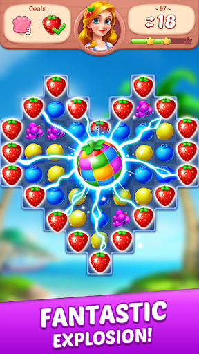 Fruit Genies - Match 3 Puzzle Games Offline screenshots 3