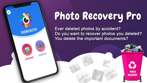 deleted photo recovery - restore images screenshot 1