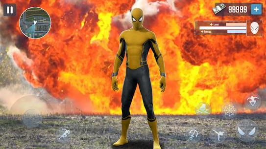Spider Rope Hero – Gangster New York City 3