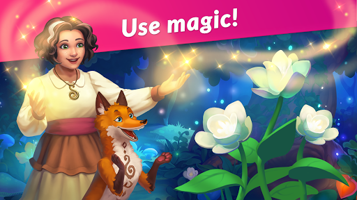 Bewitching Forest: Magic Match 3 Gamesud83dudcabDecorate! apkpoly screenshots 6