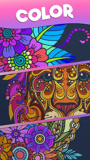 Color Stories - color journey, paint art gallery screenshots 6
