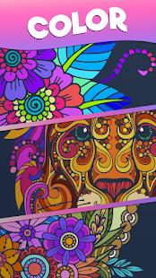Color Stories - color journey, paint art gallery