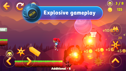 Tricky Liza: Adventure Platformer Game Offline 2D 1.1.41 screenshots 9