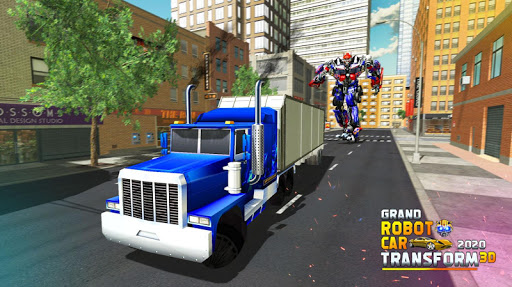 Grand Robot Car Transform 3D Game 1.35 screenshots 4
