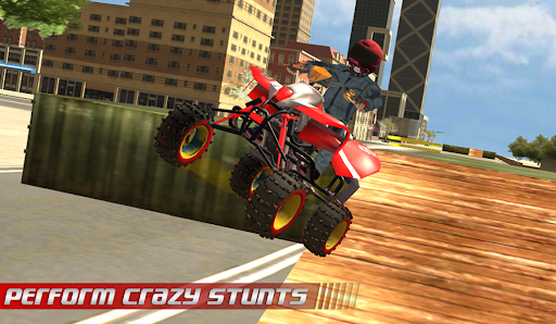 ATV Quad City Bike: Stunt Racing Game 1.0 screenshots 3