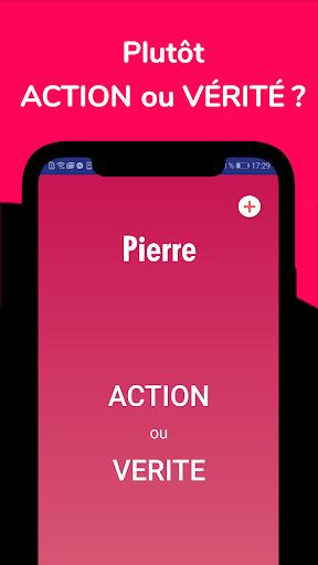 Télécharger Gratuit Action ou Vérité 😈 Jeu entre amis  APK MOD (Astuce) screenshots 1