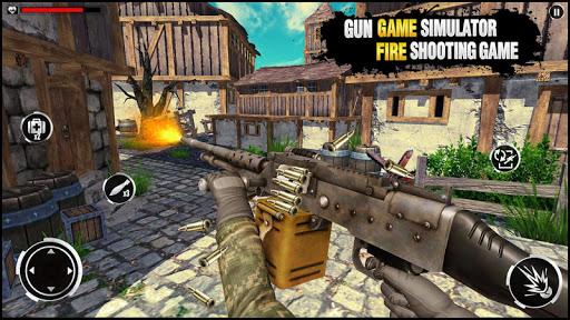 Gun Game Simulator: Fire Free u2013 Shooting Game 2k21 1.0.4 screenshots 3