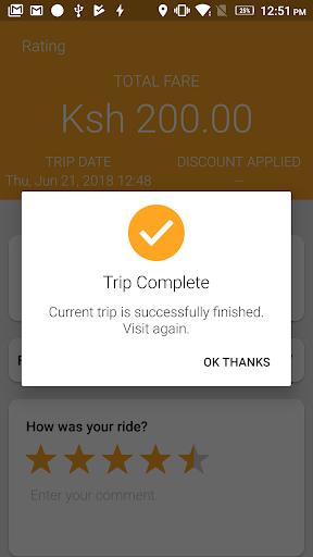 Wasili Rider App 2.0 Screenshots 6