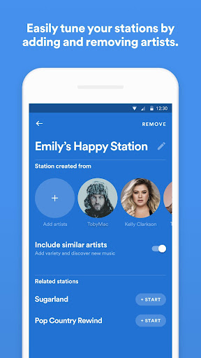 Spotify Stations: Streaming radio & music stations 0.2.99.90 Screenshots 5