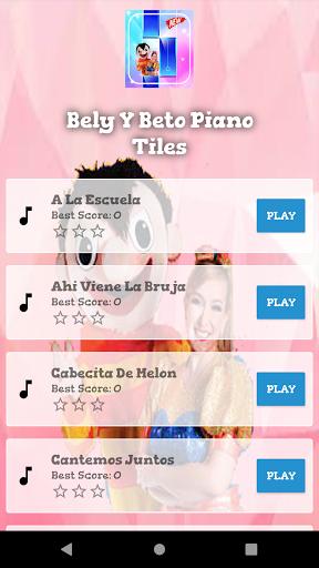 bely y beto musica piano tiles Las Tumbas  screenshots 2