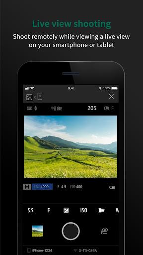 FUJIFILM Camera Remote 4.6.1(Build:4.6.1.2) Screenshots 1