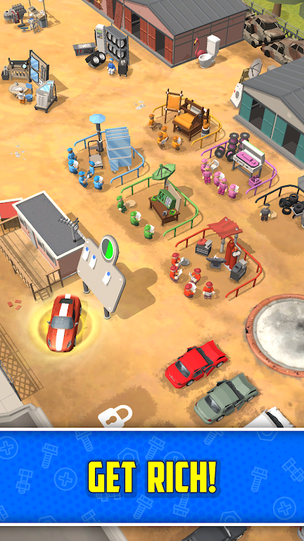Scrapyard Tycoon Idle Game poster 5