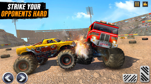 Real Monster Truck Demolition Derby Crash Stunts  Screenshots 5