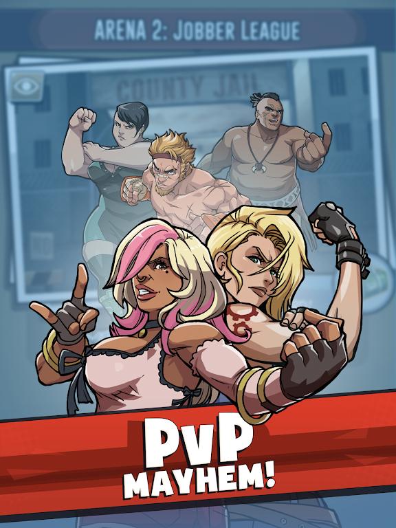 The Muscle Hustle: Slingshot Wrestling Game  poster 16