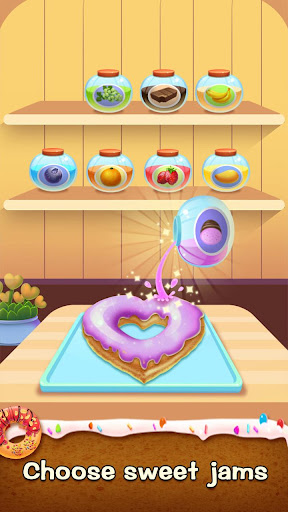 ud83cudf69ud83cudf69Make Donut - Interesting Cooking Game 5.5.5052 screenshots 10