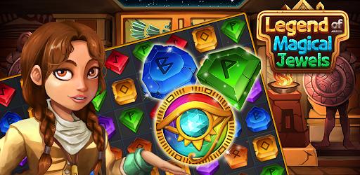 Legend of Magical Jewels: Empire puzzle screenshots 2