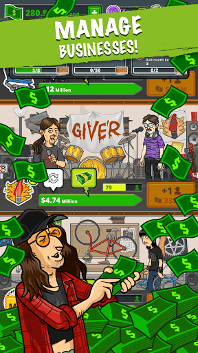 Télécharger Fubar - Idle Party Tycoon mod apk screenshots 1
