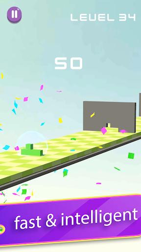 Télécharger Gratuit Tetro Block Puzzle – Shape Escape Run apk mod screenshots 4