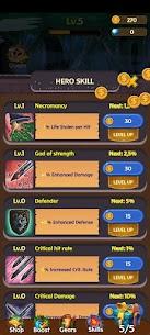Merge Hero Tales – Idle AFK RPG Mod Apk 1.0 (High DMG + Lots of Gold) 4