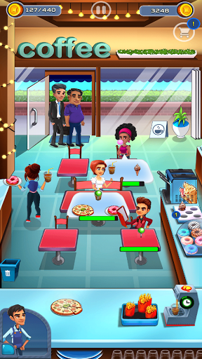 Cooking Cafe - Food Chef apkslow screenshots 12