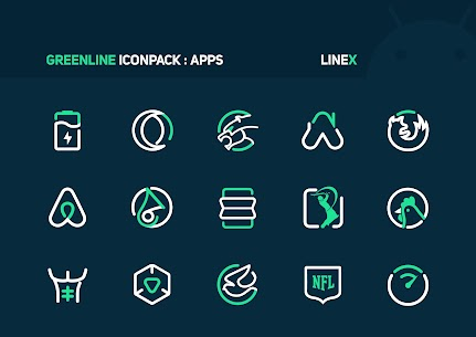 GreenLine Icon Pack APK Download for Android 4