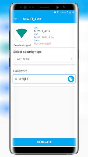 free wifi password key generator screenshot 2