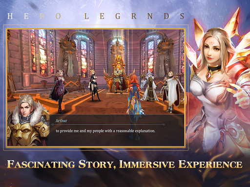 Hero Legends: Summoners Glory  screenshots 16