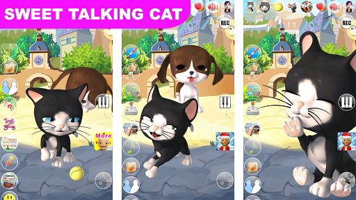 Talking Cat and Dog Kids Games  screenshots 8