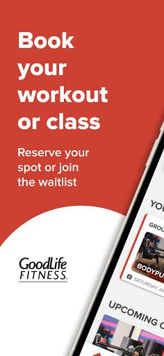 GoodLife Fitness  screenshots 1