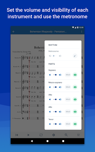 MuseScore: view and play sheet music android2mod screenshots 10