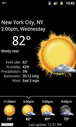 Palmary Weather  Screenshots 2