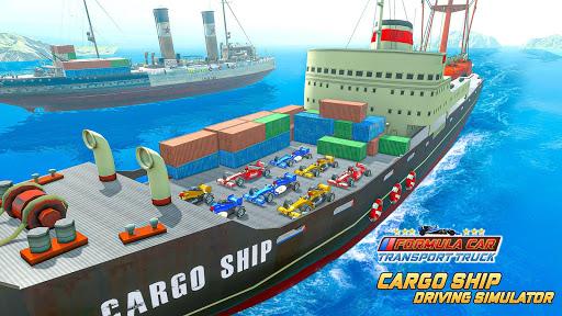 Formula Car Transport Truck: Cruise Ship Simulator 7.6.5 screenshots 5