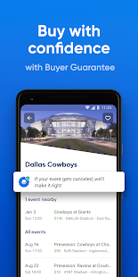 SeatGeek – Tickets to Sports, Concerts, Broadway Screenshot