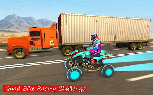 Quad ATV Traffic Racer 3