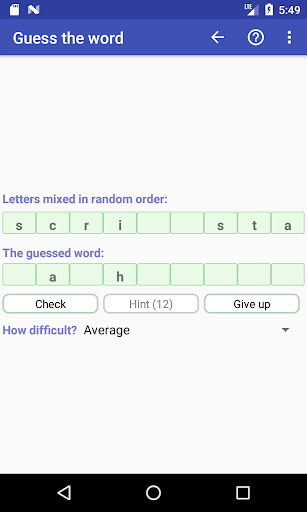Word Game Collection(Free) modavailable screenshots 7
