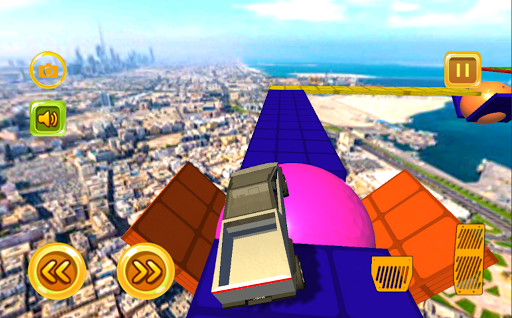 cyber truck jump adventure screenshot 2