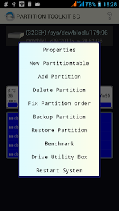 ROEHSOFT PARTITION TOOL SD-USB 1.45 Android APK Mod 3