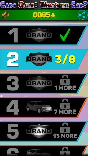 Cars Quiz 3D 2.3.0 screenshots 21